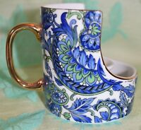 Royal Paisley CANDLE HOLDER Cup Shaped Hand painted 1986 Made in Japan