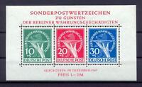 Berlin Block 1 Währungsgeschädigte postfrisch (ws166)