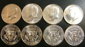 1964 1965 1966 1967 Kennedy Proof & SMS Half Dollar 4 Coin Set Silver w/Issues