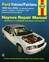 Ford Falcon AU Series 1998-2002 inc Fairlane & LTD 6cyl Haynes Repair Manual