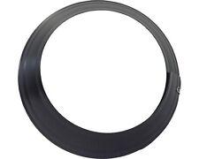 Wandrosette Rosette DN 150 Ofenrohr schwarz verstellbar bis 140 - 165 mm