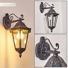 klassische Aussen Wand Lampen schwarz Veranda Garten Hof Terrassen Beleuchtung