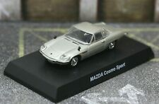 Kyosho 1/64 Rotary Engine Collection Mazda Cosmo Sport Silver
