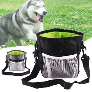 Dog Puppy Treat Pouch Outdoor Pet Training Snack Obedience Bag Food Dispenser