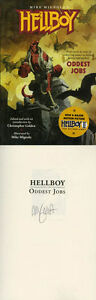 Mike Mignola SIGNED AUTOGRAPHED Hellboy Oddest Jobs Part 3 SC Brand New