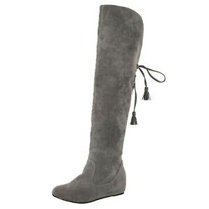 knee length Booties Trendy Fashion Shoes Slouch womens Designer Boots US 4-10