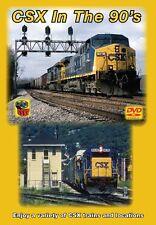 CSX in the 90s DVD Greg Scholl Ohio New River Alco FPA-4 GP9  Clinchfield