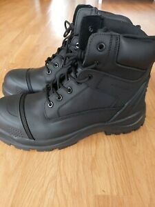 Men's Work Safety Boots With Steel Toe Cap Size 11