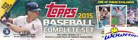 2015 Topps Baseball 706 Cards Factory Set-2 KRIS BRYANT+RIPKEN CHROME REFRACTOR