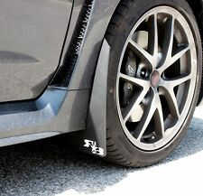Rokblokz Rally Mud Flaps Original Length 2015-2018 WRX / STi - WHITE Logo