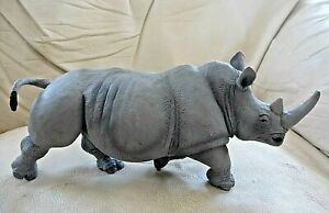 RHINOCEROS Toy Figure 2007 SAFARI Large Rhino 12""