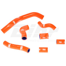 SAMCO SET MANCHON TUYAUX RADIATEUR ORANGE KTM SUPERMOTO 990 2009-2012