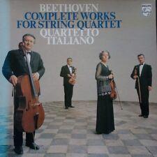 6747 272 Beethoven Complete Works For String Quartet / Quartetto Italiano 10 ...