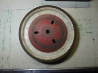 Vintage, Pedal car, soap box derby, wagon wheel, red and white, 3/8 in axel