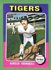 1975 Topps Mini #221 Aurelio Rodriguez b Tigers NM++