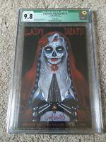 Lady Death #1 (Judgement War) All Souls Edition  #48 of 200  CGC