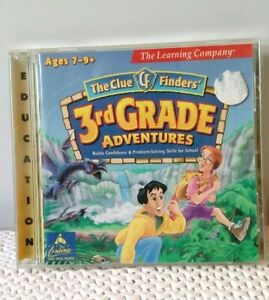 The Learning Company - The Clue Finders' 3rd Grade Adventures 1997 (Age 7-9+) PC
