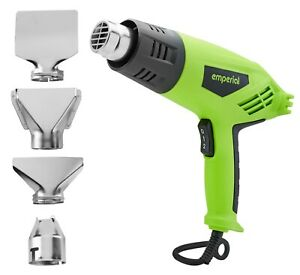 Emperial Heat Gun - Hot Air Gun 2000W - Remove Paint, Varnish & Adhesives