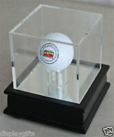DisplayGifts™ Golf Ball Stand Display Case, Great Gift,  GB13-BLA