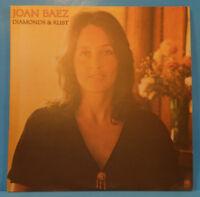 JOAN BAEZ DIAMONDS & RUST LP 1975 ORIGINAL PRESS GREAT CONDITION! VG++/VG++!!C