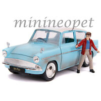 JADA 31127 HOLLYWOOD RIDES HARRY POTTER 1959 FORD ANGLIA 1/24 with FIGURE
