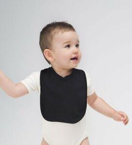 BabyBugz Baby Unisex Bib / Lätzchen Klettverschluss Baumwolle BZ12 NEU
