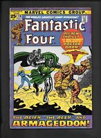 Fantastic Four 116 Dr Doom Overmind Stranger Thing Human Torch Marvel Comic 1971