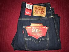 mens 32 31 Levis 501 CT selvege redline white oak cone denim blue jeans