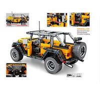 Technic Jeep Offroad Auto Gelände 42056 42083 42065 42110 Blöcke Bausteine MOC