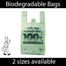 More details for 100% biodegradable plastic carrier bags eco friendly large shopping bag reusable