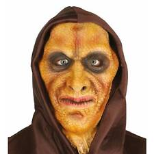Reptile Lizard Man Mask with Hood Adults Halloween Scary Fancy Dress
