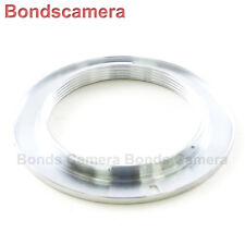 Macro M42 Screw Mount Lens to Nikon F Adapter Silver D750 D800 D3200 D5200 D7000
