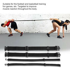 Basketball Football Agility Training Belt Defensive Aid Speed Reaction Strap New