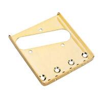 Stock B - Plaque de bridge TELECASTER vintage - gold - pour guitare TELE