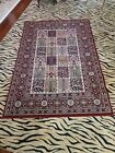 IKEA Valby Ruta Rug Persian Morocco Oriental Red 133x195cm made in Egypt 4x6