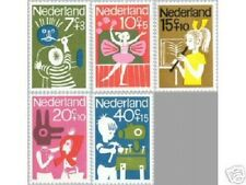 NVPH 830-34 Kinderzegels 1964 Postfris