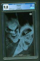 DCeased #1 CGC 9.8 Torpedo Comics Edition B Variant Cover Ben Oliver Negative