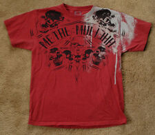 METAL MULISHA red t shirt size M short sleeve