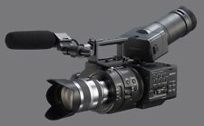 The Sony NEX-FS700R Super 35 4k Camcorder with 18-200mm f/3.5-6.3 Lens