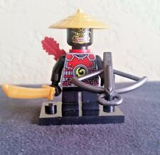Lego Ninjago minifigure Stone Army Scout yellow face Golden Hat 70500 70503