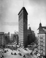 Historical 1905 Photo Times Square NYC FLATIRON BUILDING New York Architecture