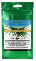 100% Pure Organic Saw Palmetto Vegetable Capsules No Fillers