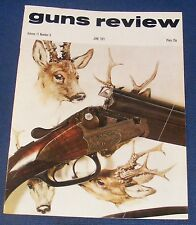 GUNS REVIEW MAGAZINE JUNE 1971 - THE SIG SPORTING RIFLE - THE A.M.T.