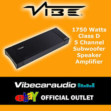 Vibe Vehicle Audio Amplifiers with 5-Channels