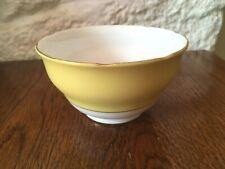 Vintage Retro Colclough Harlequin Bone China Sugar Bowl in White &  Yellow
