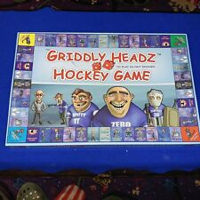 Griddly Headz 2007 Hockey Board Game 100% Complete Excellent