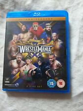 BLU RAY: WWE WrestleMania 30 XXX (2-disc set, 2014) wrestling FREE P&P