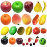 Props Fake Peach Lemon Simulation Fruits Artificial Apple Lifelike Orange