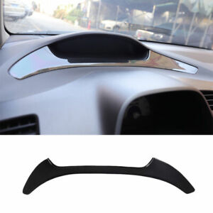 Middle control Speedometer strip trim ABS carbon fiber For Honda Civic 8th 06-11