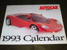 AUTOCAR & MOTOR CALENDAR - 1993